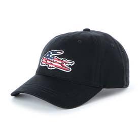 MENS BIG CROCO USA GABARDINE CAP (NOIR)