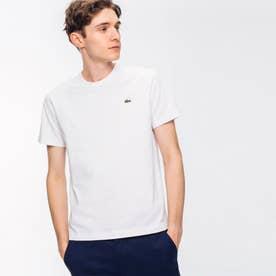 ベーシック クルーネック Tシャツ (半袖) (ホワイト)