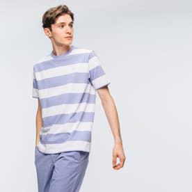ビックボーダーTシャツ (ライトブルー)