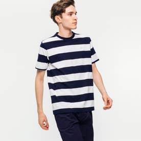 ビックボーダーTシャツ (ネイビー)