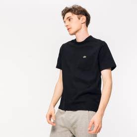 ベーシッククルーネックポケットTシャツ (半袖) (ブラック)