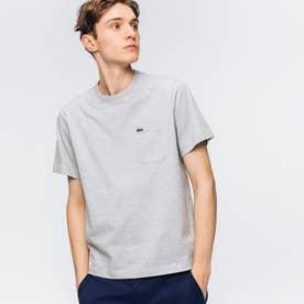 ベーシッククルーネックポケットTシャツ (半袖) (グレー)