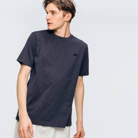 ボディーサイズピグメントTシャツ (ブラック)