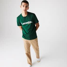 ニューアイコンネームプリントTシャツシャツ (グリーン)