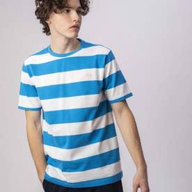 ビックボーダーTシャツ (ブルー)