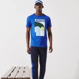 コアパフォーマンスグラフィックプリントTシャツ (ブルー)