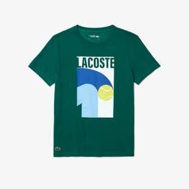 コアパフォーマンスグラフィックプリントTシャツ (グリーン)