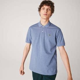 『L1264』定番半袖ポロシャツ(杢糸) (ブルーグレー)