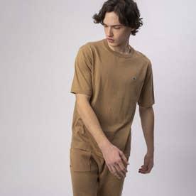 クールマックスニットTシャツ (ダークベージュ)