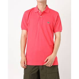 BASIC PIQUE POLO SHIRT L1212 CLASSIC (サーモンピンク)