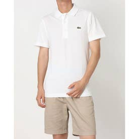 ULTRA LITE KNIT SOLID POLO SHIRT L1230 (ホワイト)