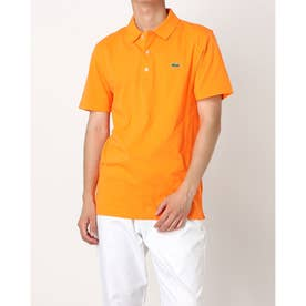 ULTRA LITE KNIT SOLID POLO SHIRT L1230 (オレンジ)