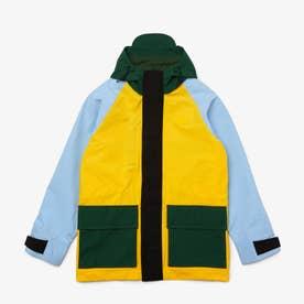 L!VE カラーブロッキングフィールドジャケット (イエロー)