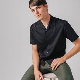 COOLMAX(R) カッターシャツ (ブラック)