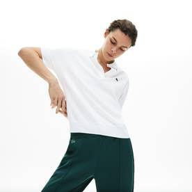 リラックスフィットピケポロシャツ(半袖) (ホワイト)