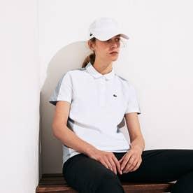 2トーンピケゴルフポロシャツ(半袖) (ホワイト)