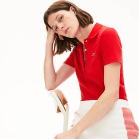 リブコットンポロシャツ(半袖) (レッド)