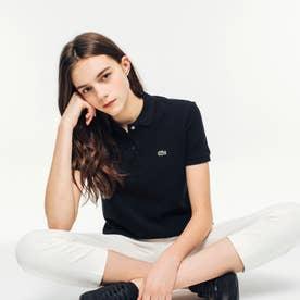 コットン100% ピケ ポロシャツ(半袖) (ブラック)