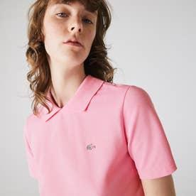 L!VE変形ポロシャツ (ピンク)