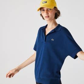 リラックスフィットピケポロシャツ(半袖) (ロイヤルブルー)