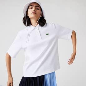 オーガニックコットンピケポロシャツ(半袖) (ホワイト)