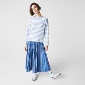 長袖バスクシャツ (ライトブルー)