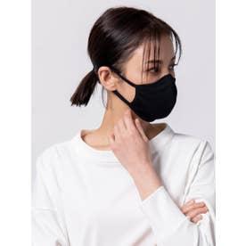 スムースフィットマスク リブ【返品不可商品】 (ブラック)