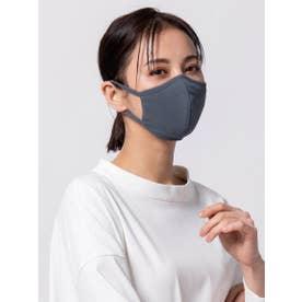 スムースフィットマスク リブ【返品不可商品】 (ブルー)