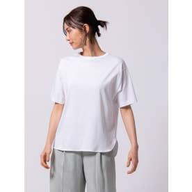 【WEB別注カラーあり】綿100% スーピマTシャツ≪洗濯機で洗える≫ (ホワイト)