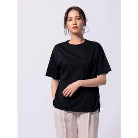 【WEB別注カラーあり】綿100% スーピマTシャツ≪洗濯機で洗える≫ (ブラック)