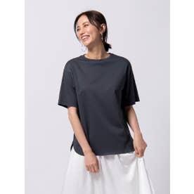 【WEB別注カラーあり】綿100% スーピマTシャツ≪洗濯機で洗える≫ (チャコールグレー)