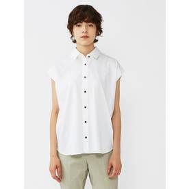 スッキリ見えノンストレスシャツ《形態安定性/イージーケア》 (ホワイト)