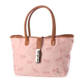 × a-jolie コラボ ひねり金具おむすびトート (ピンク)