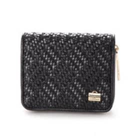 フレンチファブリック SAFECO 2つ折り財布 (ブラック)