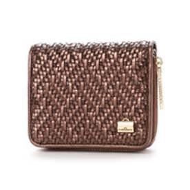 フレンチファブリック SAFECO 2つ折り財布 (ブラウン)