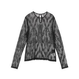LADYロングスリーブTOPS (BLK)
