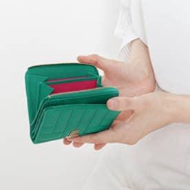 ベルシー Lファスナー財布 (グリーン)