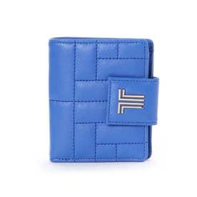 ベルシー 2つ折り財布 ブルー