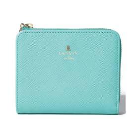リュクサンブールカラー 二つ折り財布 ペールグリーン1