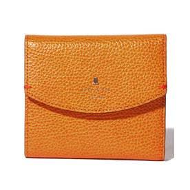 イザベル 二つ折り財布 オレンジ4