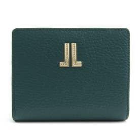 ラブレーパース 二つ折り財布 [65-6800] (グリーン)