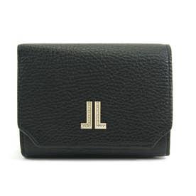 ラブレーパース 二つ折り財布 [65-6801] (ブラック)