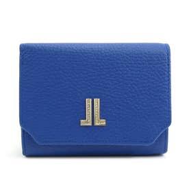 ラブレーパース 二つ折り財布 [65-6801] (ブルー)