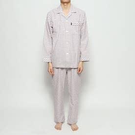 ネルチェックパジャマ (レッド)