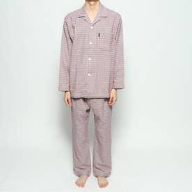 ネルガンクラブチェックパジャマ (レッド)