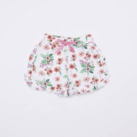 花柄フリルパンツ (Pink)
