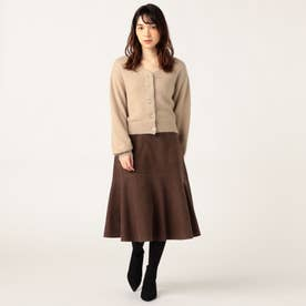 コーデュロイマーメイドスカート (チョコレートブラウン)