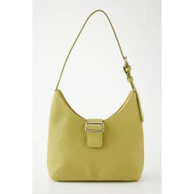 BELTED ONEHANDLE BAG LIME
