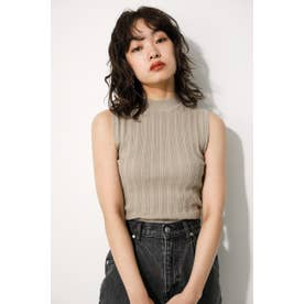 KNITTING FABRIC CROPPED TOPS BEG
