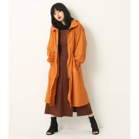 NYLON LONG COAT ORG